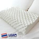 HONORS 天然ラテックス100% 高反発枕(ドリアン型枕) いびき防止 酷いイビキや無呼吸症候群の方にお勧め! 洗濯可能 59.5x39x13.5cm