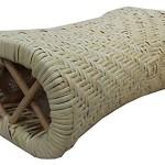 【籐枕】 暑さ対策の枕 蒸れなく快適な睡眠 約30×20×12cm