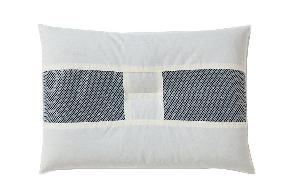 竹炭パイプ枕 35×50 cm