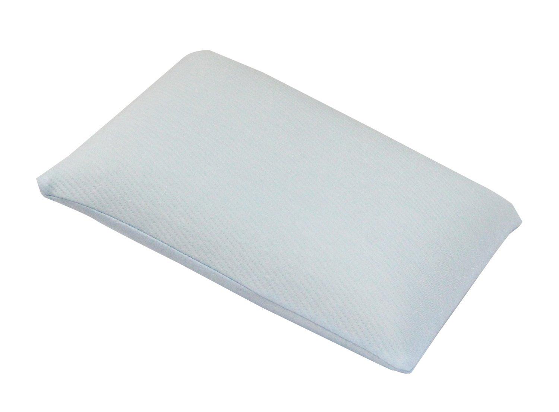 ジュニア用 低反発枕(カバー付) ブルー