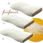 西川産業 ファインスムーズ ミニパイプ枕 ワイドサイズ 高さ調整可能 高め/普通/低め EA0086 EFA1981201 日本製 (中(普通))