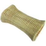 通気性抜群! さわやか籐枕 30x12x18cm 【インドネシア製】
