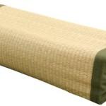 高さが調節できる い草枕 『高さが変わる枕 い草 箱付』 約40×15cm(中材:い草チップ)