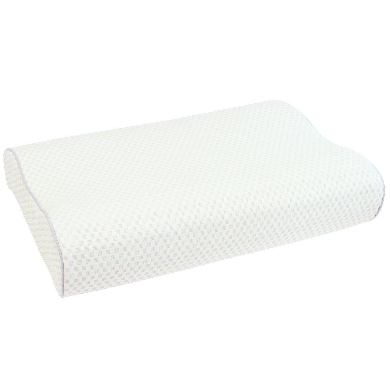 rexa×フランスベッド エアレートピロー(低反発枕) ホワイト